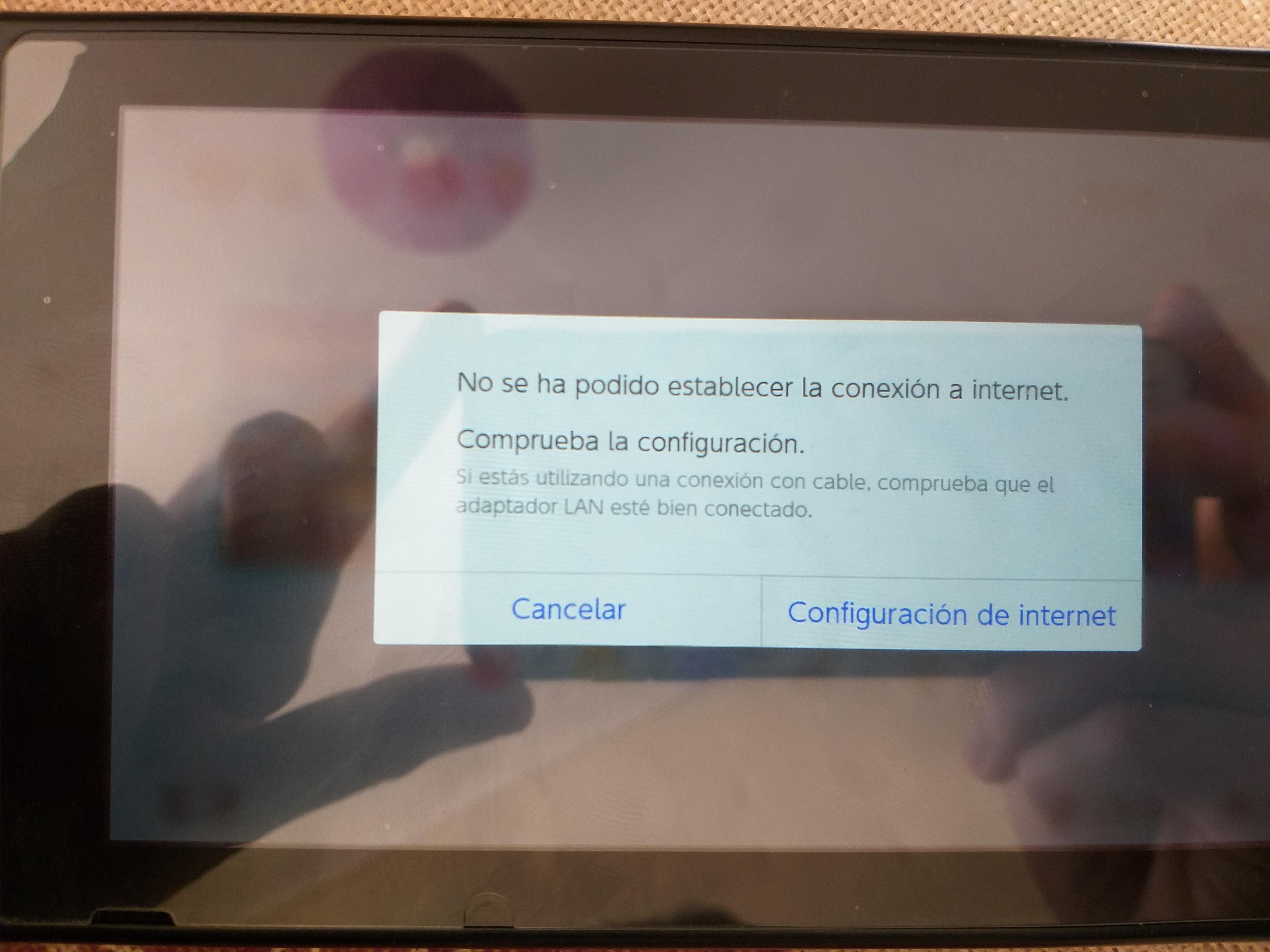Problema con juegos NSP que solicitan conexión a internet | Nintendo